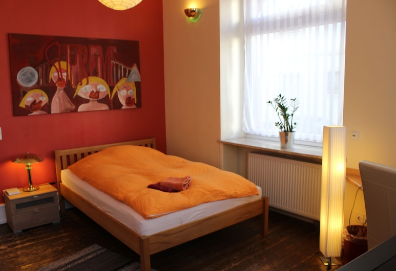 CoLodging, Mannheim, Double Room, 1 Double Bed, Non Smoking, Guest Room