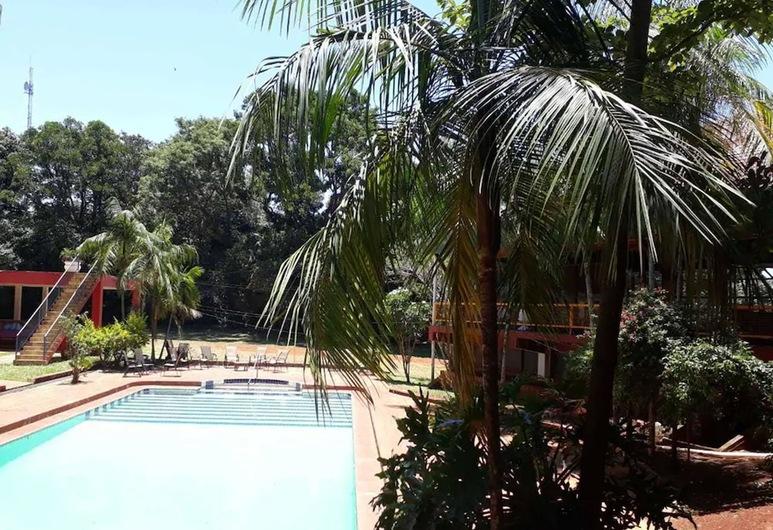 Hotel Latino, Puerto Iguazú, Binnenplaats