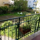 City apartman, 2 hálószobával, terasz, kilátással a kertre (Via Parsano 6 B) - Erkély