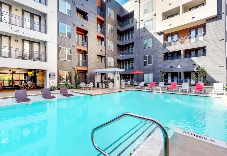 艾藍城市之光酒店, 達拉斯, 單棟房屋 (The Bluebonnet Suite 1 Bedroom), 室外泳池