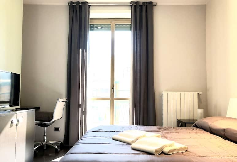 Gemini Guest House, Rome, Standard Double Room, Balcony, Guest Room