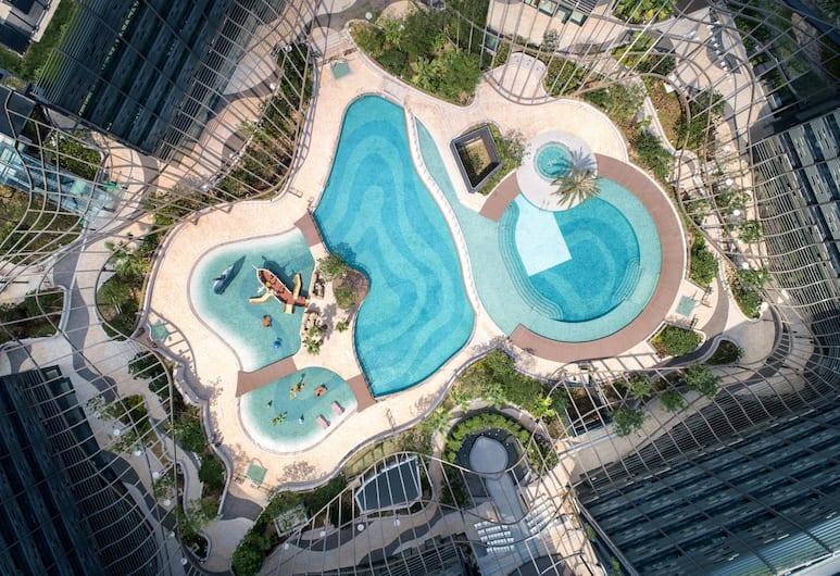 홍콩 오션 파크 메리어트 호텔, 홍콩, 야외 수영장