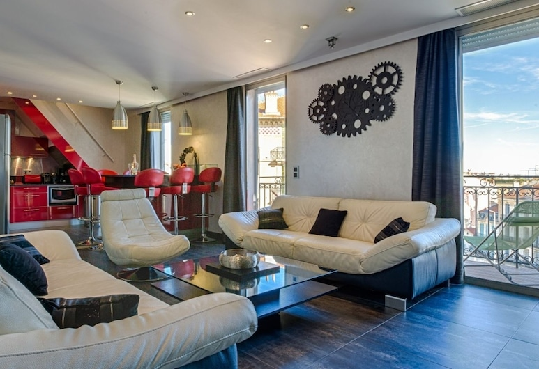 RG Duplex - 4 chambres -  LRA Cannes, Cannes, Stofa