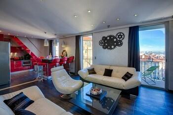 Nuotrauka: RG Duplex - 4 chambres -  LRA Cannes, Kanai