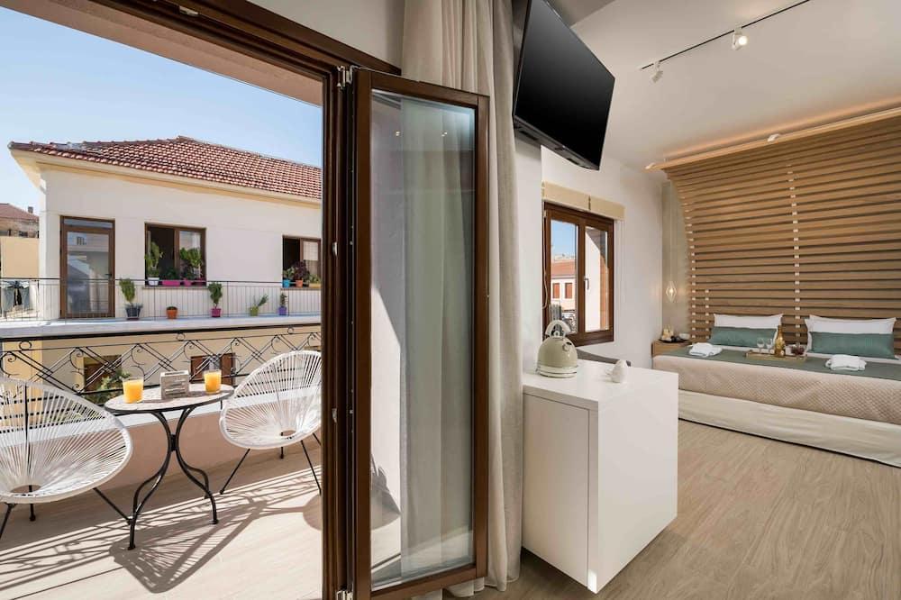 جناح بتصميم مميز - منظر من غرفة الضيوف