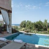 Villa, privaatbasseiniga, vaade merele - Terrass