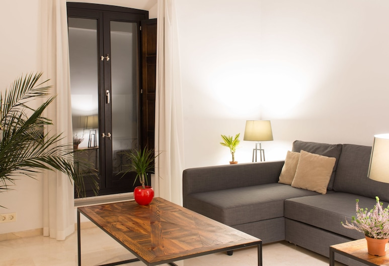 Suites Campo del Principe, Granada, Представительский люкс, 2 спальни, Гостиная