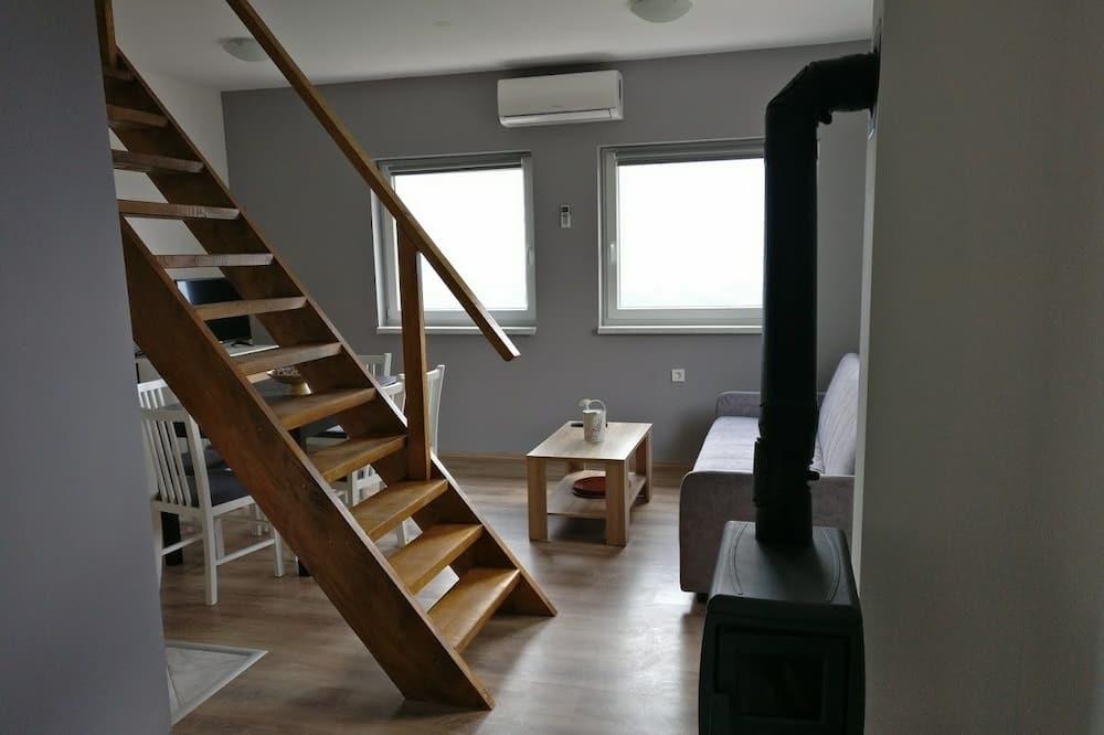Διαμέρισμα, Θέα στο Βουνό - Περιοχή καθιστικού