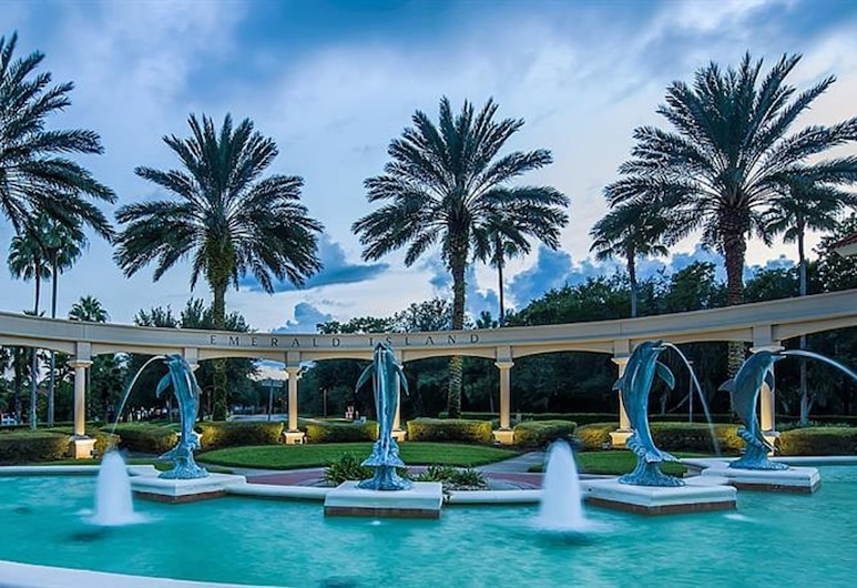 Emerald Island Resort - 2753 Lido Key Drive, Kissimmee, Villa, 6 habitaciones, Fuente