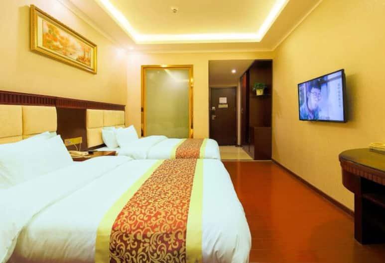 Dongming Hotel Shenzhen Pingzhou Branch, Shenzhen, Deluxe - kahden hengen huone, Vierashuone
