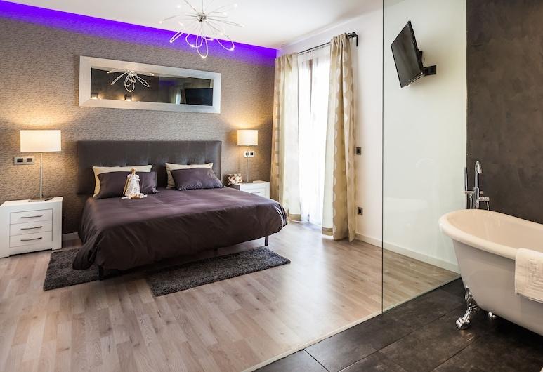 Mafloras Luxury & Beach Apartment, סון סרוורה, דירה, 3 חדרי שינה, טרסה, חדר