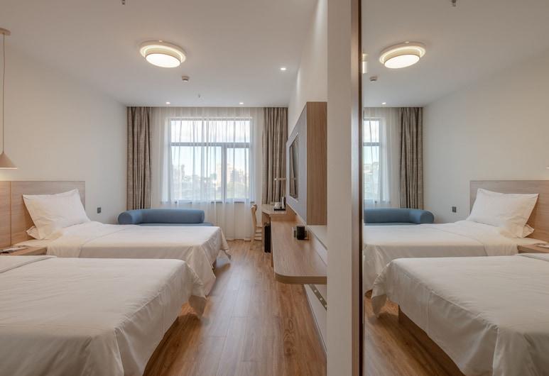 Shanghai Future Shangju Hotel, Šanghaj, Standardní pokoj se dvěma jednolůžky, Pokoj