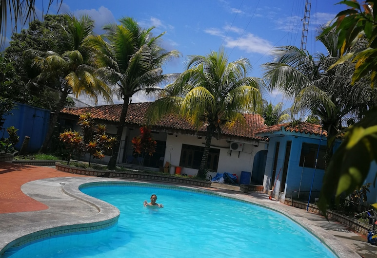 Poseidon Guest House, Iquitos, Terrasse/Patio