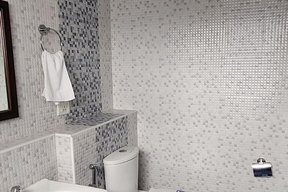 デラックス ダブルルーム 禁煙 ガーデンビュー - バスルーム