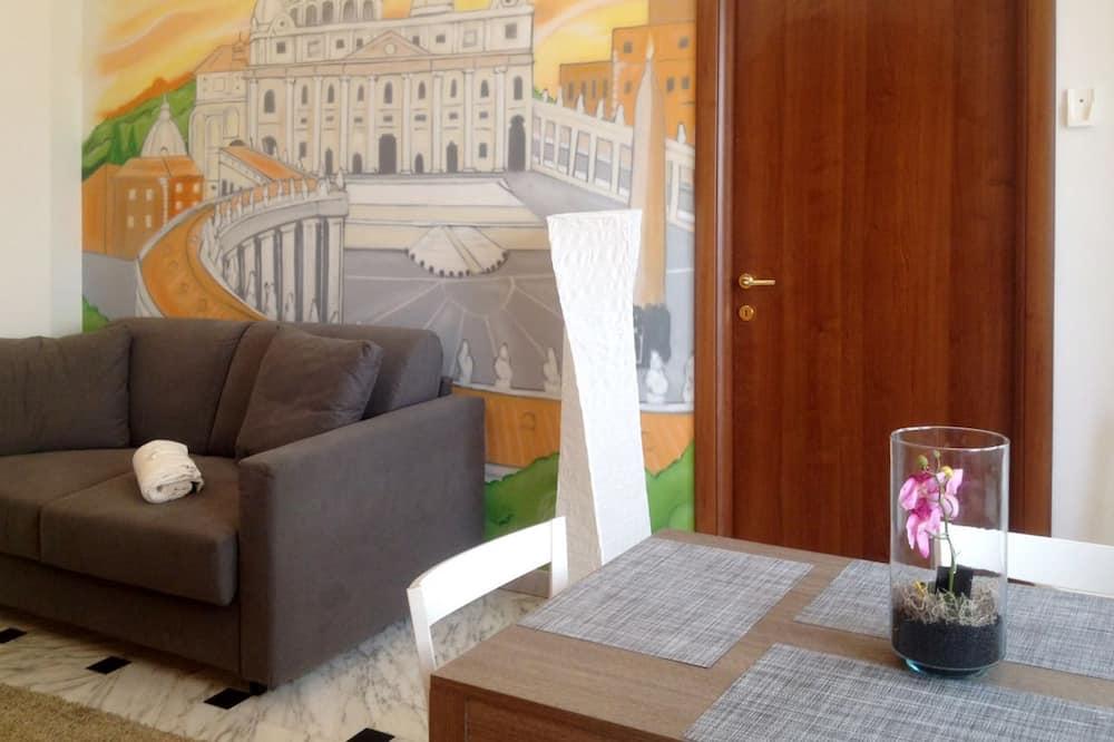 Departamento, 1 habitación (Ginevra) - Sala de estar