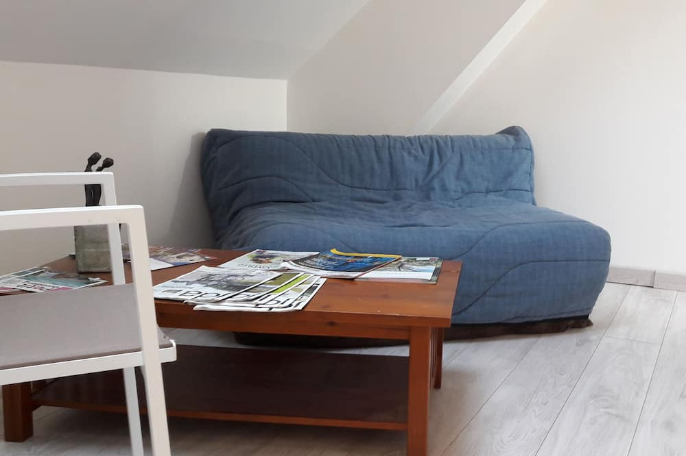 Double Room (Cote Jardin) - Living Area