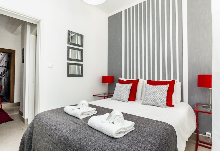 LxWay Apartments Travessa do Oleiro, Lizbona, Apartament, 1 sypialnia, na parterze (RC), Pokój