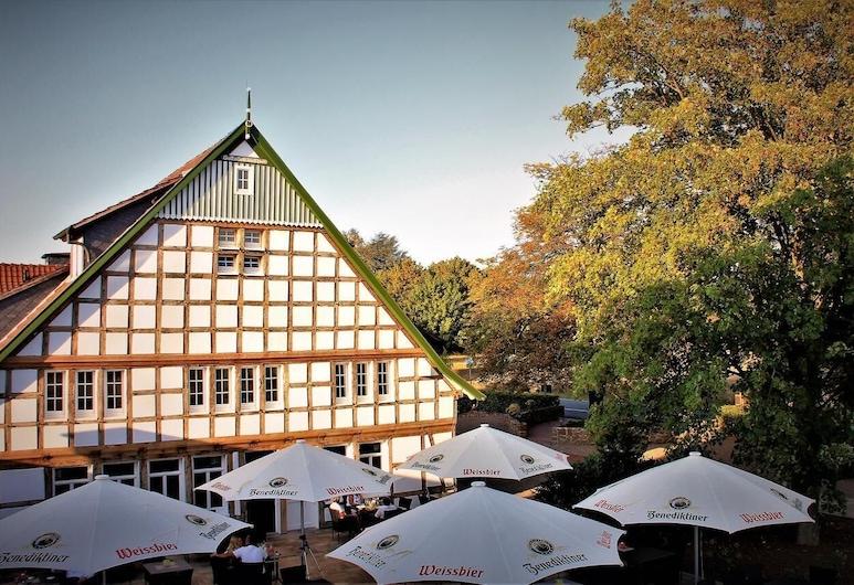 Hotel Weinhaus Möhle, Bad Oeynhausen, Teras/Veranda
