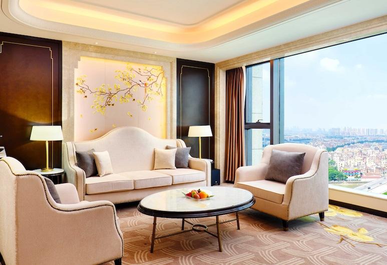 Zanyee Hotel Nanhai Foshan , Foshan, Suite Deluxe, 1 habitación, bañera, vista al río, Habitación