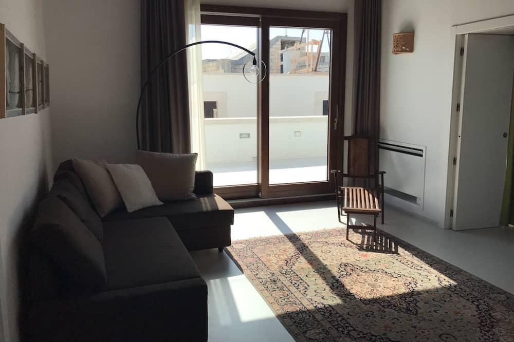 Luksuzni apartman, pogled na grad - Dnevni boravak