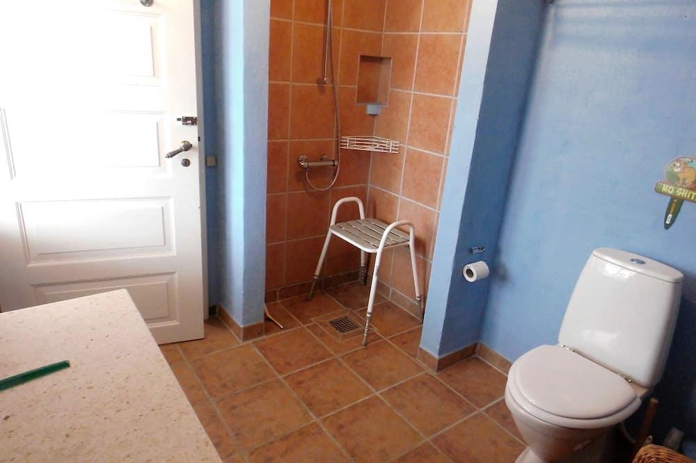 Phòng dành cho gia đình, Phù hợp cho người khuyết tật, Không hút thuốc - Phòng tắm