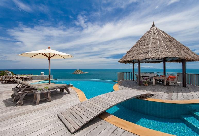 Villa Sabai Jai, Koh Tao, Eagle Villa, Ocean and Beach View , Piscine privée