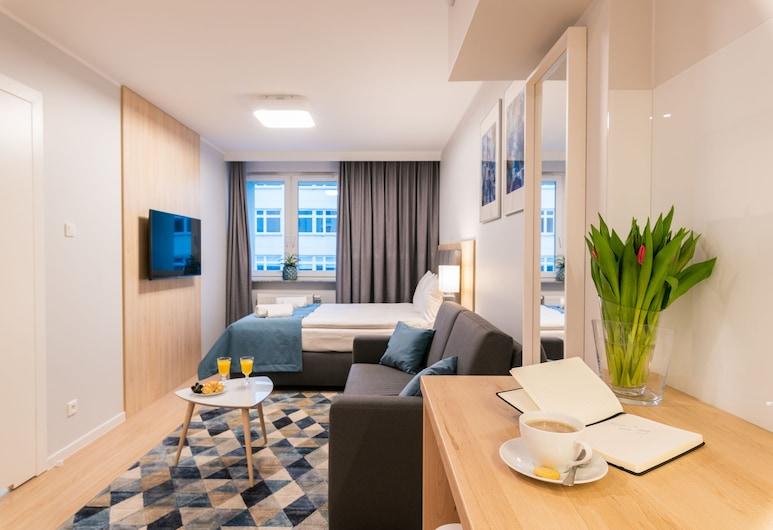 Q17 Apartments, Wroclaw, Comfort Apartment, Room