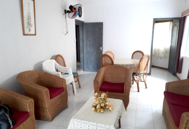 Apartment With 3 Bedrooms in Flic en Flac, With Wonderful sea View, Balcony and Wifi - 25 km From the Beach, Flic-en-Flac