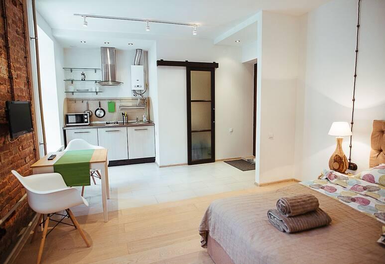Апартаменты CoHome на Миллионной 21, Санкт-Петербург, Апартаменты, 1 двуспальная кровать, для некурящих, Номер