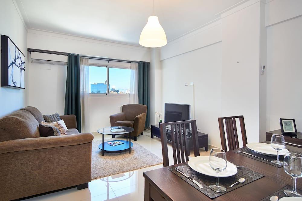Apartmán typu Business, kuchyňa, bez výhľadu - Obývacie priestory