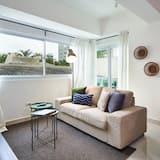 Apartmán typu Business, balkón, čiastočný výhľad - Obývačka