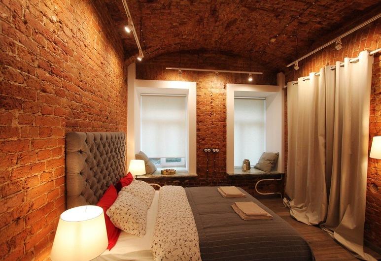 Отель CoHome Loft Studio на Ломоносова 24, Санкт-Петербург, Апартаменты, 1 двуспальная кровать, для некурящих, Номер