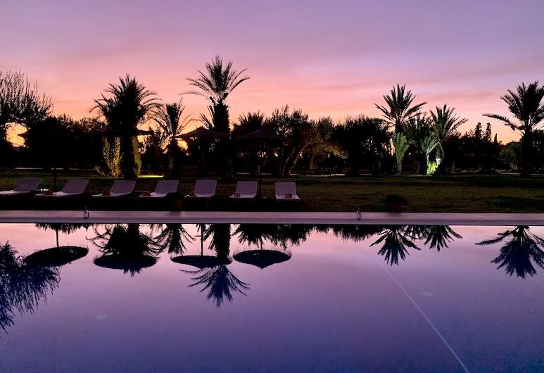 Marrakech Retreat By La Siredrah, Sidi Abdallah Ghiat, Piscine à débordement