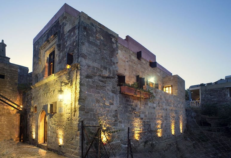 Mystic Hotel - Adults Only, Rhodes, Hotel Front – Evening/Night
