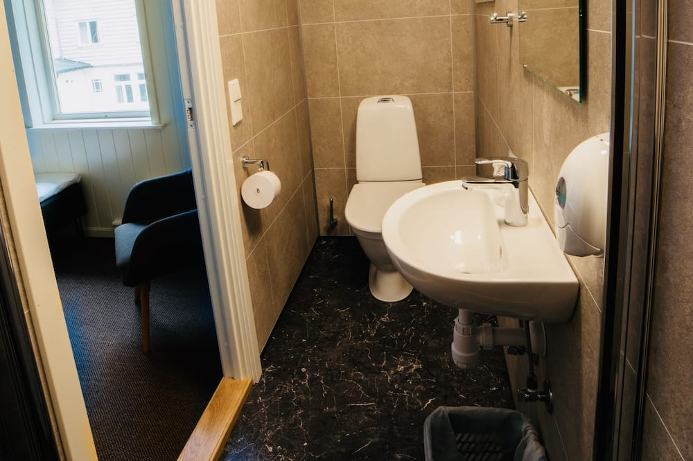Habitación individual económica, baño privado - Baño