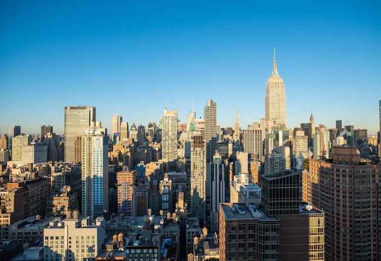 紐約切爾西萬麗飯店, 紐約, 客房, 1 張特大雙人床, 城市景觀, 邊間, 客房