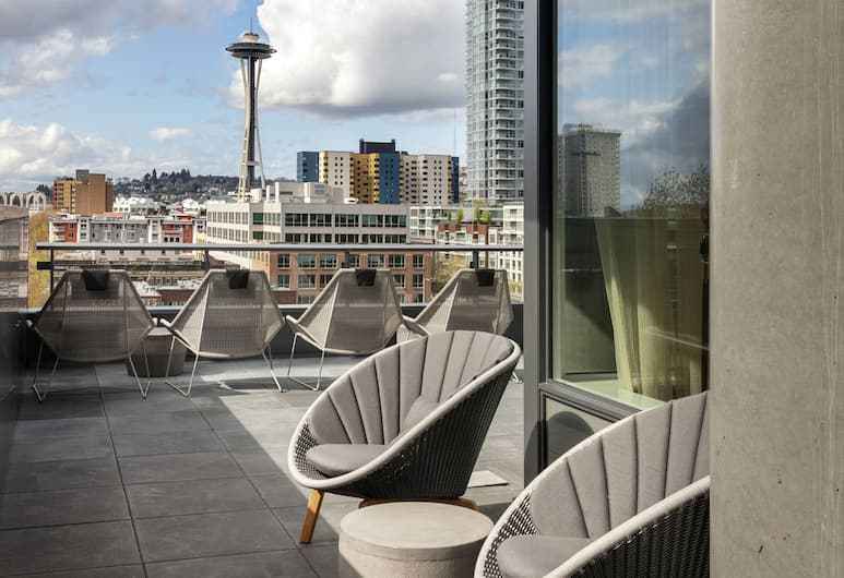The Sound Hotel Seattle Belltown, Tapestry Collection by Hilton, Seattle, Terassi/patio