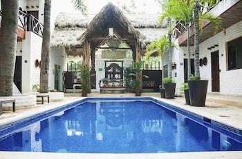 Selline näeb välja Hotel Kupuri, Sayulita