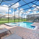 別墅, 多張床 - 室內游泳池
