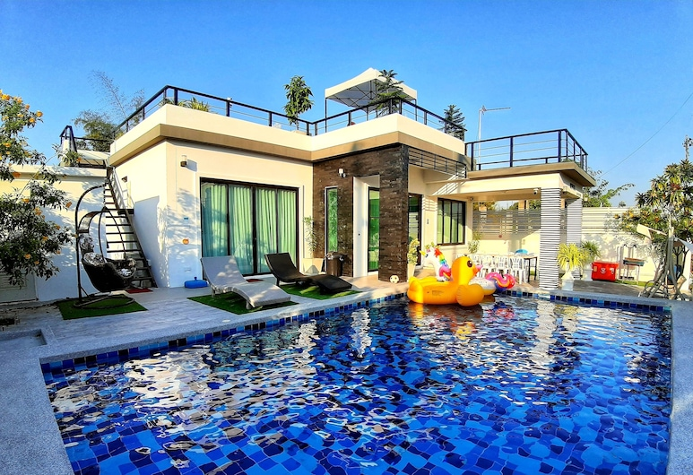 我的泳池別墅酒店, Hua Hin, 室外宴會場地