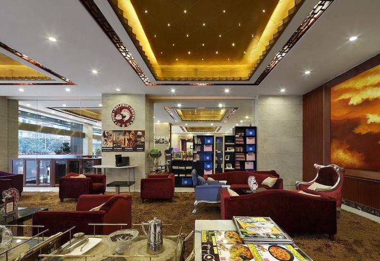 HANYONG HOTEL WANFU BUILDING BRANCH, Shenzhen, Salottino della hall