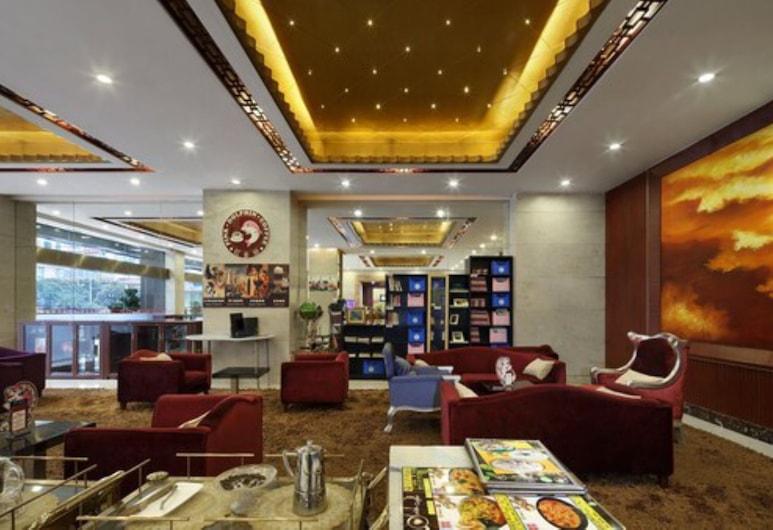 HANYONG HOTEL WANFU BUILDING BRANCH, Shenzhen, Sitteområde i lobbyen