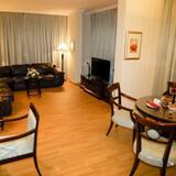 Executive suite, 1 kingsize bed, niet-roken, Uitzicht op de stad - Kamer
