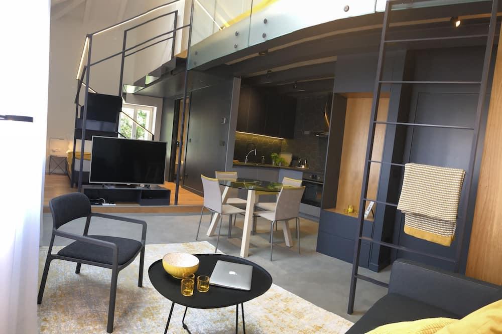 Çatı Katı (Loft) - Oturma Alanı