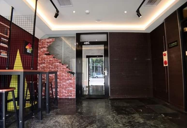 Win Inn Kaohsiung Hotel, Kaohsiung, Priestory na sedenie v hale