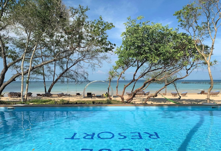 Tube Resort, Koh Rong Sanloem, Pool