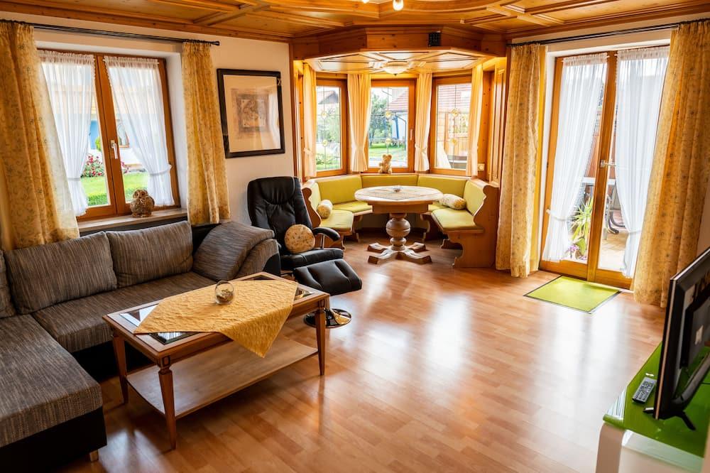Apartment, 2Schlafzimmer (Oberstdorf) - Wohnbereich