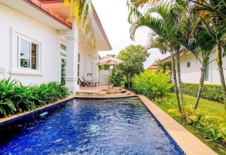 班揚 2 房別墅酒店 BR097, 華欣, 2 Bedrooms Villa, 私人泳池