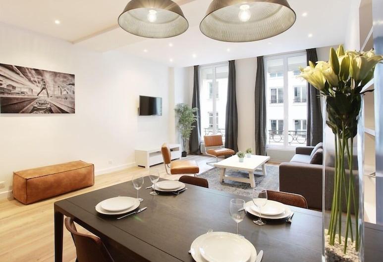 Résidence Bonne Nouvelle, Paris, Apartment, Ensuite, City View (SAINT DENIS 3), Lounge