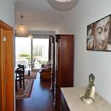 Apartamento panorámico, 1 habitación, terraza, vistas al mar - Zona de estar